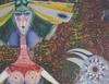 Svanberg; max walter, färglitografi och prägling, sign o at 72, numr 33/300.