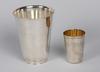 BÄgare, 2 st, silver, gab, stockholm 1954 resp sovjetunionen 1900 talets mitt