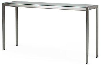 104. A Gae Aulenti steel and glass sideboard 'Appia', Zanotta, Italy.