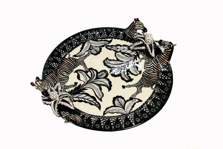 Zebra plate.