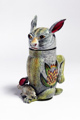 Rabbit tureen.
