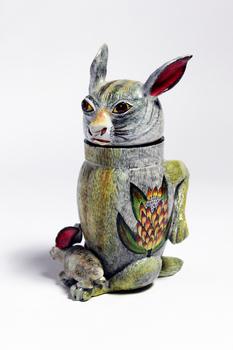 16. Rabbit Tureen.