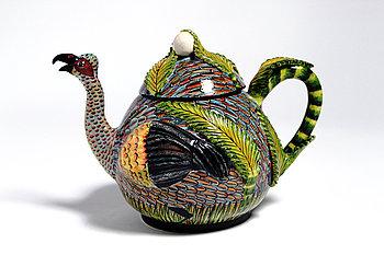 24. Bird Teapot.