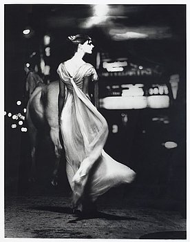 "220. Lillian Bassman, ""Times Square: The Night Fantastic""."
