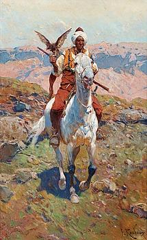 217A. Franz Alexeevic Roubaud, Falconer.