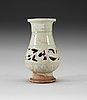 A pale celadon glazed vase, yuan dynasty (1271-1368).
