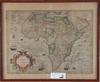 "Karta, ""nova africae tabula auctore"", 1700 tal"
