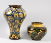 Urna samt vas, keramik, herman kähler, danmark