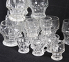Glasservisdelar, 21 delar, 1800-talets slut.