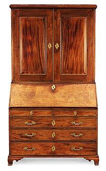484. A Swedish Rococo 18th Century writing cabinet.