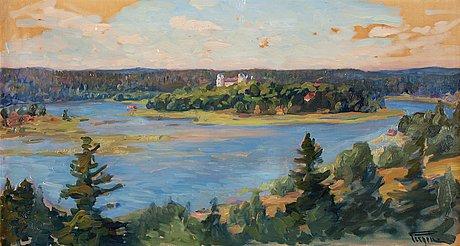 Prins eugen, summer landscape from tyresö.