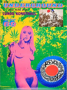 STURE JOHANNESSON, affisch efter feb 69.