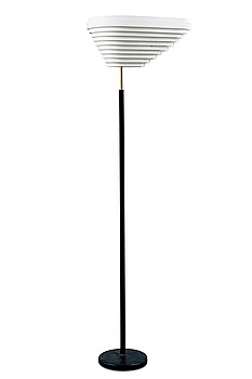 "312. Alvar Aalto, A FOOT LAMP ""ANGEL'S WING""."