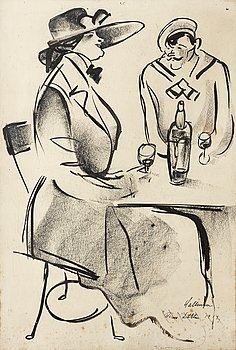 16. Adolf Hallman, At Berns Salonger.