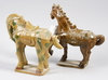 Figuriner, 2 st, porslin, 1900-tal, kina.