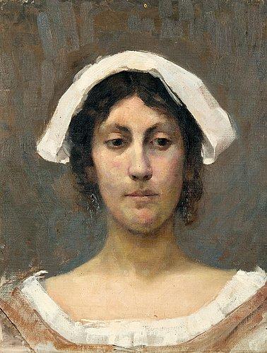 Elin danielson-gambogi, elin danielson-gambogi, girl in white bonnet.