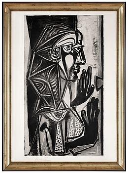 """286. PABLO PICASSO, """"La Femme à la Fenêtre""""."""