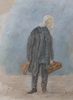 Koopman, akvarell, sign o dat 1923.