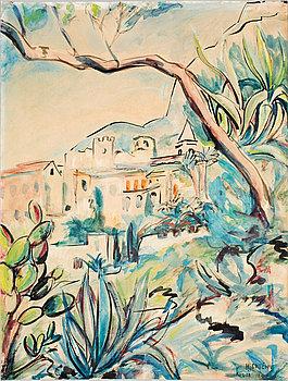 SIGRID HJERTÉN, akvarell, sign.