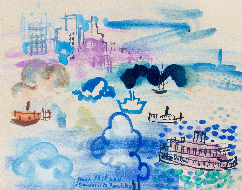 Raoul Dufy, Motiv från New York. - Bukowskis