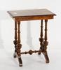 Lampbord, nyrenässans, sent 1800-tal.