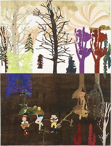 """Jockum nordström, """"dödsskogen"""" (the forest of death)."""
