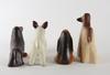 Figuriner, 4 st, stengods, lisa larson, gustavsberg, sign.