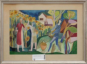 CARL-HARRY STÅLHANE, akvarell, sign o dat -46.
