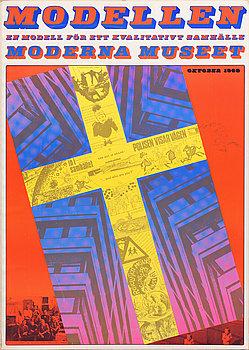 STURE JOHANNESSON, utställningsaffischer, 2 st.