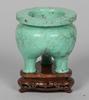 RÖkelsekar, miniatyr, sten, kina, 1900-talets senare hälft.
