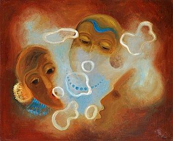 70. Esaias Thorén, Smoke rings.