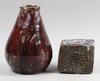 Vas samt objekt, keramik.