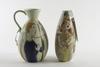 Vaser, 2 st, stengods, carl-harry stålhane, rörstrand.