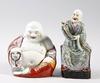 Figuriner, 2 st, porslin, kina, 1900-tal.