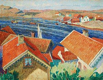 2. Agnes Cleve, Motif of the Swedish west coast.