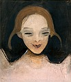 "HELENE SCHJERFBECK, ""SMILING GIRL"". Sign. 1..."