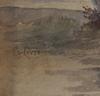 OkÄnd konstnÄr, akvarell, sign lovén, sekelskiftet 1800/1900.