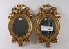 Spegellampetter, ett par, gustaviansk stil.