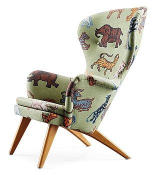 13. A Carl-Gustav Hiort af Ornäs easy chair, by Gösta Westerberg, Stockholm 1950's.