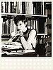 """Rosemarie trockel, """"bibliothek babylon white""""."""