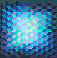 "VICTOR VASARELY, ""Ion - 11"". Signed Vasarel..."