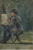 Palm, anna, akvarell. sign o dat 1884.