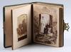 Fotoalbum med speldosa, sekelskiftet 1800/1900, usa.