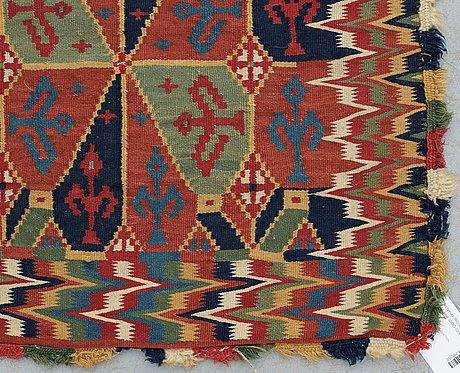 Cushion. rölakan (flat weave). skåne first half of the 19th century.