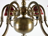 Takarmatur, metall, barockstil, 1900-talets mitt.