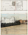 "CHRISTO, ""Wrapped Reichstag (Project For De..."
