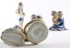 Figuriner, 4 st, porslin, bing & gröndahl.