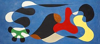 """127. PIERRE OLOFSSON, """"Two lines meeting"""" (""""Två linjer som möter varandra"""")."""