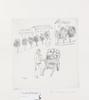 Bergman taube, astri. litografier samt teckningar, 13 st. sign.