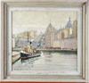 OkÄnd konstnÄr, olja på pannå, sign o dat 1935.